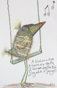 Day 12 - A Bird on a Rope Swing