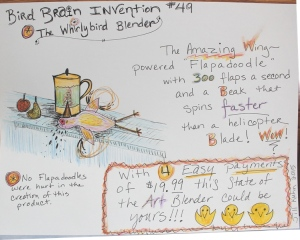 Day 21 - The Whirlybird Blender Invention