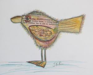 Day 8 - The Hobby Horse Bird