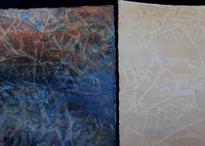 Cream & Blue, Rust