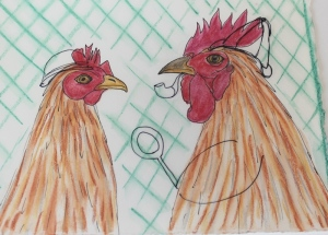 Detective chickens - 1