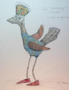 Knobby-Kneed Flexi-Gone Bird