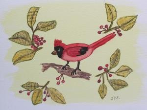 My Red Cardinal Bird