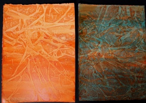 Oranges & Turquoise