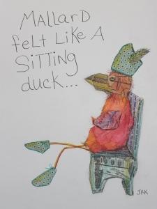 No. 101 - Mallard the sitting duck