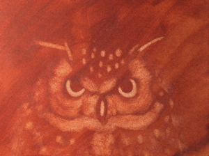 Owl Painting - 1