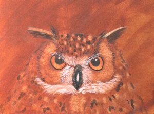 Owl Painting - 2