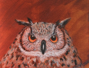 Owl Painting - 3