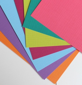 Mat color papers