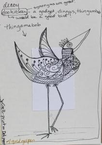 thingamabob bird