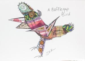Bafflegap bird
