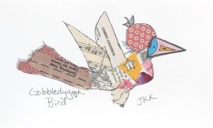 Gobbledygook bird