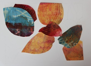 Step 2 - decide on gelli-print shapes