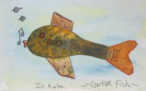 My Guitar fish