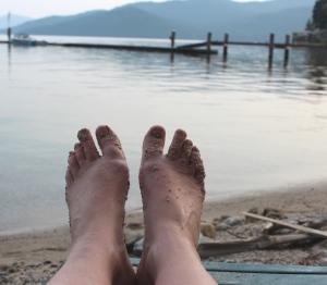 Sandy feet 7-10