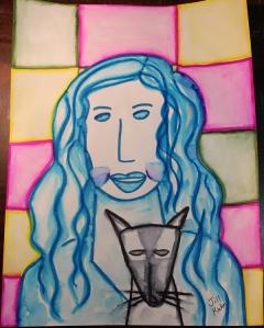Angie Modigliani portrait