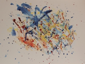 Charlie's Abstract painting