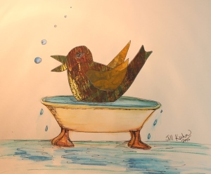 monogreen bird