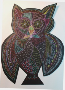 owl in patterns