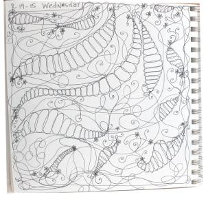 Pea doodle - 1