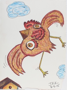 picasso bird - chicken