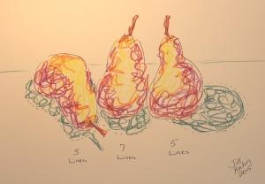 3 haiku pears