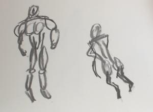 gesture sketch 2