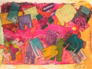 laundry collage - finish