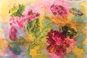leaf print 1 - 1
