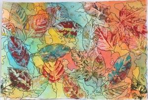 leaf print 2 - 2