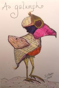 My Galumph bird