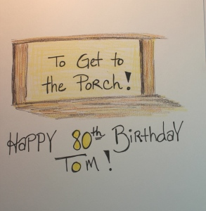 Tom Low's bday card - riddle