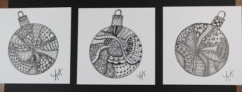 2016-1-3 All 3 doodle ornaments