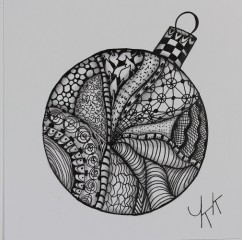 2016-1-3 Doodle ornament - 2