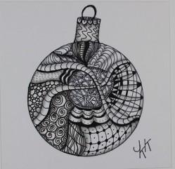 2016-1-3 Doodle ornament - 3