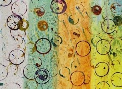 paint over spirograph circles